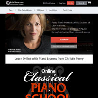 Online Classical Piano School with Christie Peery image